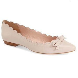 KATE SPADE NEW YORK 'Eleni' Pointy Toe Ballet Flat
